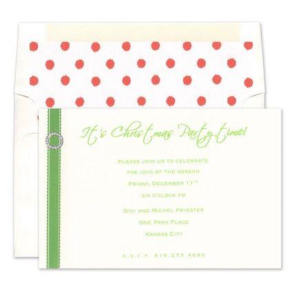 Candice Green Invitations - Karen Adams (