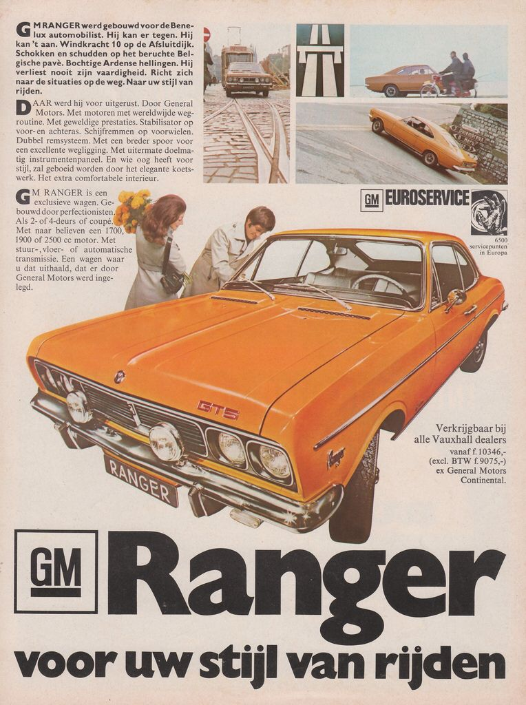 Gm Ranger 1971 American Classic Cars Ranger Car Advertising