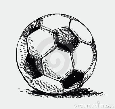 Colorful Soccer Ball Doodle Royalty Free Stock Photo Image 13965665 Ball Drawing Soccer Ball Soccer Tattoos