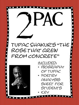 Poetry Study Tupac Shakur S The Rose That Grew From Concrete