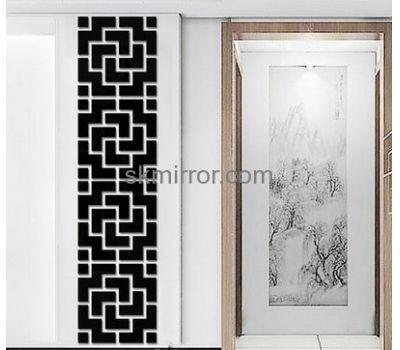 Hot selling acrylic mirror strips 3d sticker ikea acrylic wall sticker ms 192