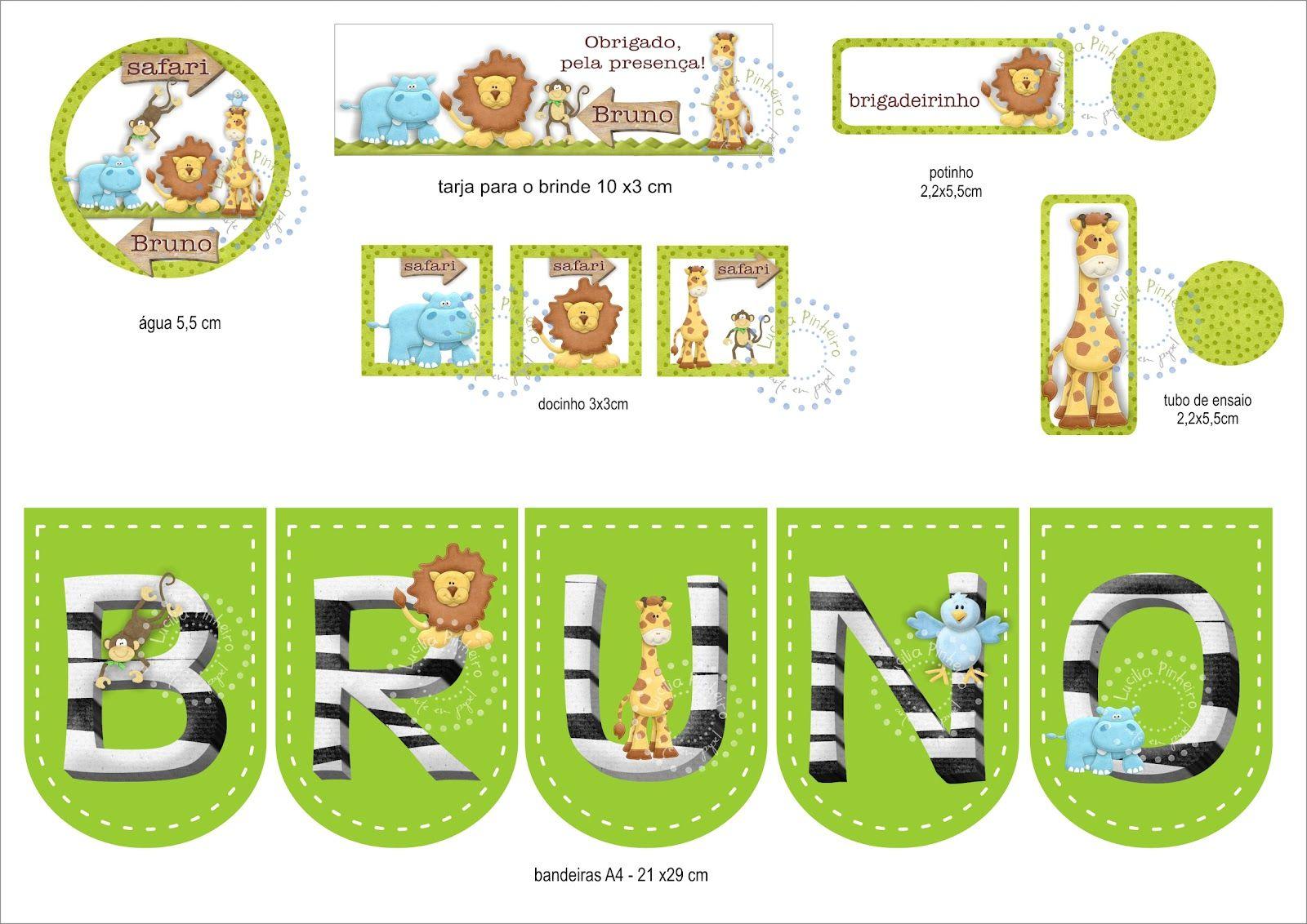 chá de bebe safari - Pesquisa Google