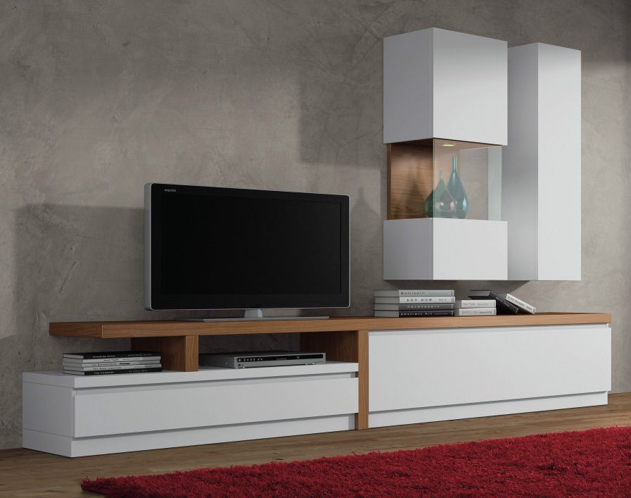 living rack TV LCD Montreal con Vidrios - Nuko | MESAS ESTUDIO ...