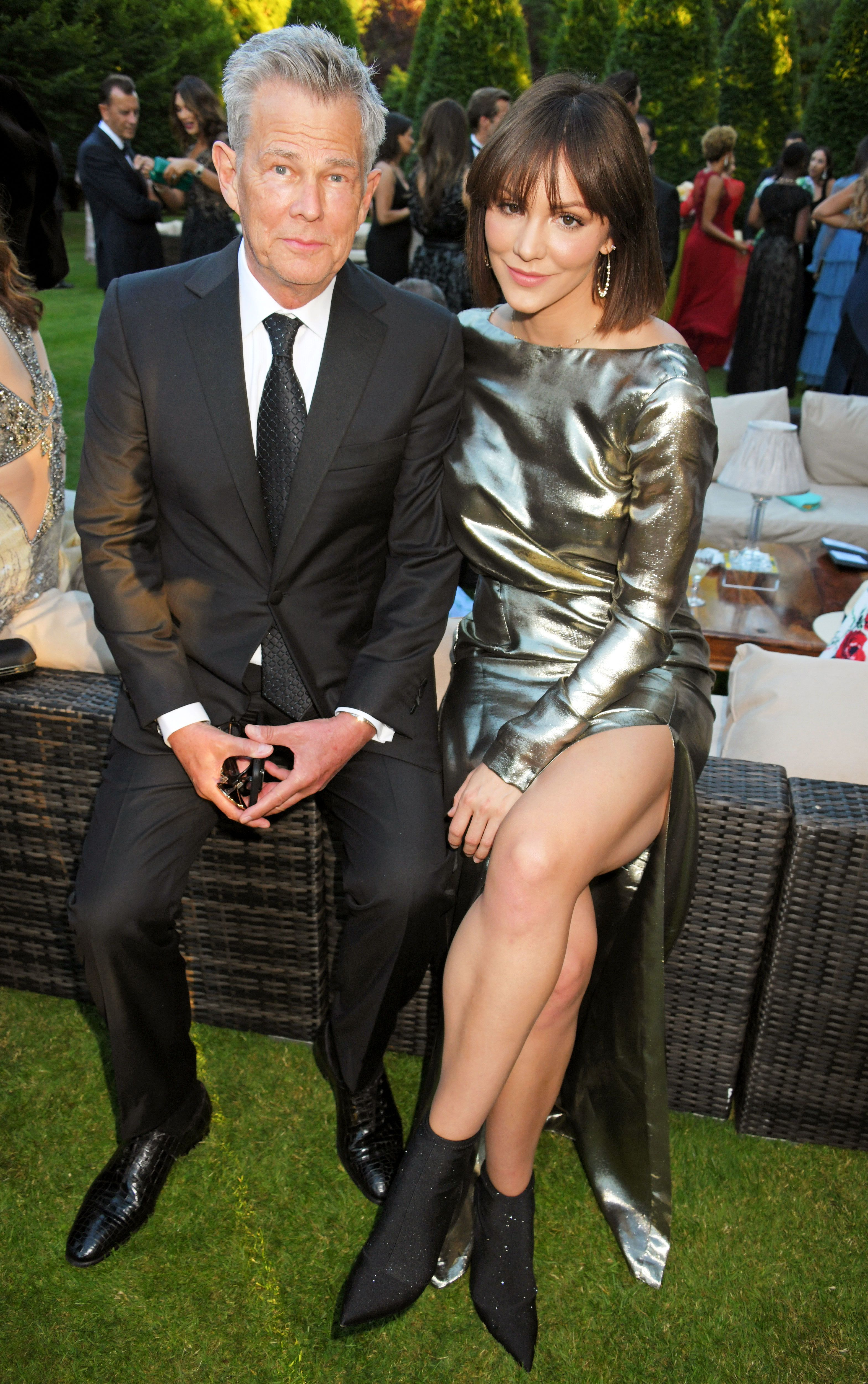 Katharine Mcphee Gushes Over David Foster Katharine Mcphee Katharine Mcphee Style Elizabeth Hurley