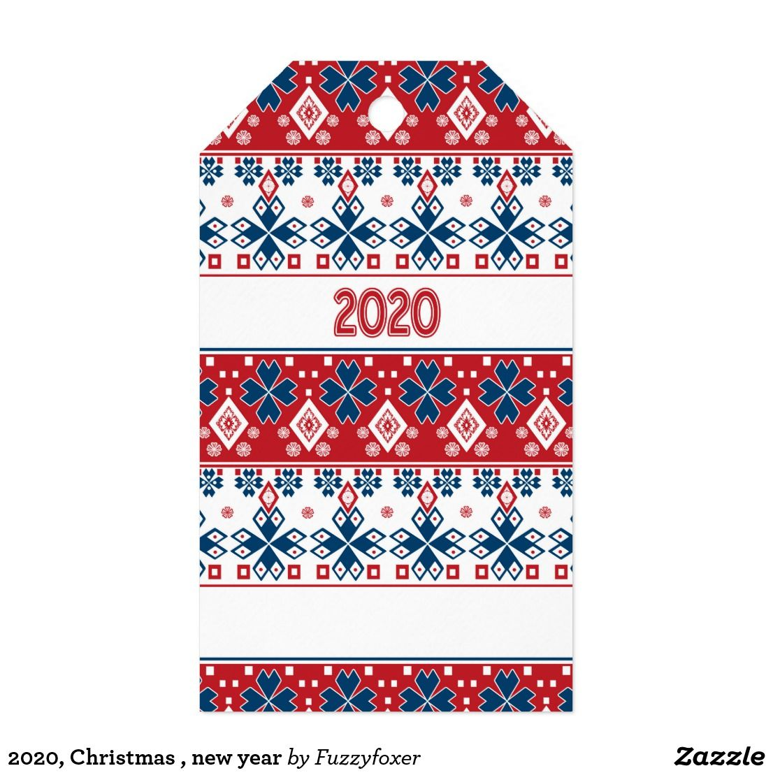 2020, Christmas , new year Gift Tags New