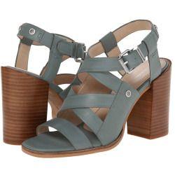 Womens Sandals Calvin Klein Jeans Brena Light Moss Leather