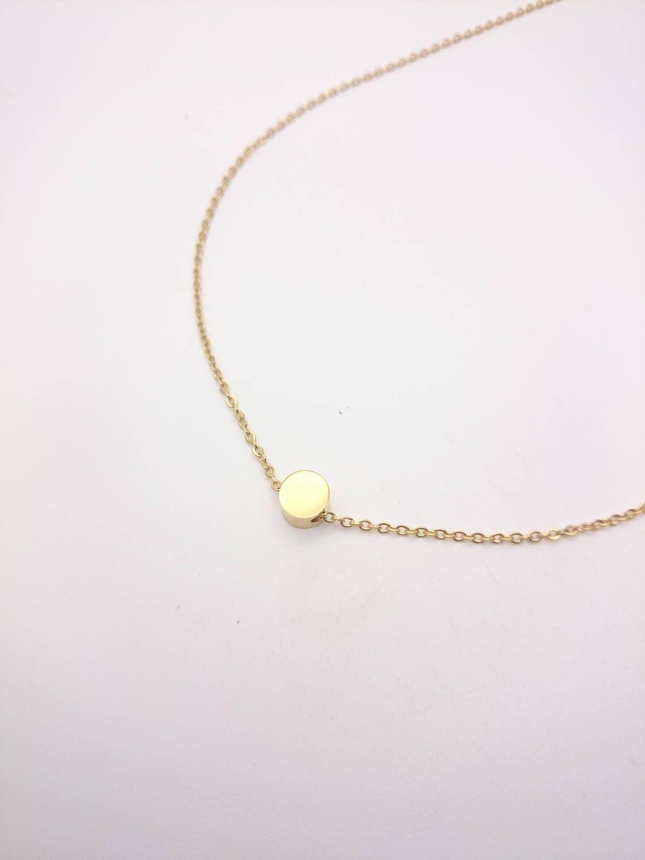 collier perle doree
