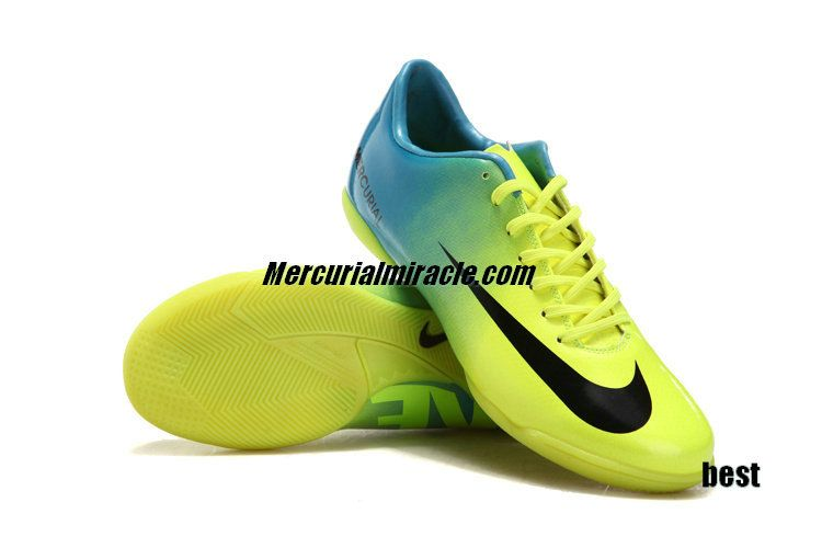 0a5d4ba47ab ... nike mercurial 2018 vapor ix ic indoor soccer shoes yellow tiffany blue  black yellow ...