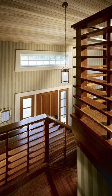 Fine Woodwork 1x6 Horizontal Railing Idea