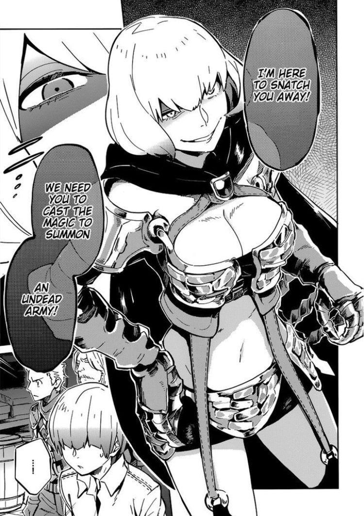 lady clementine done well in manga | Overlord | Manga, Anime