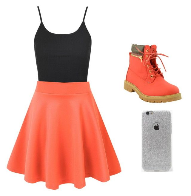 """Magcon show- Bella"" by hannalove1234 ❤ liked on Polyvore featuring Topshop and LA: Hearts"
