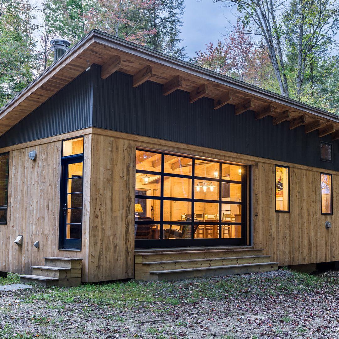 cahill cabin in vermont by cushmandesigngroup derrick barrett rh pinterest com