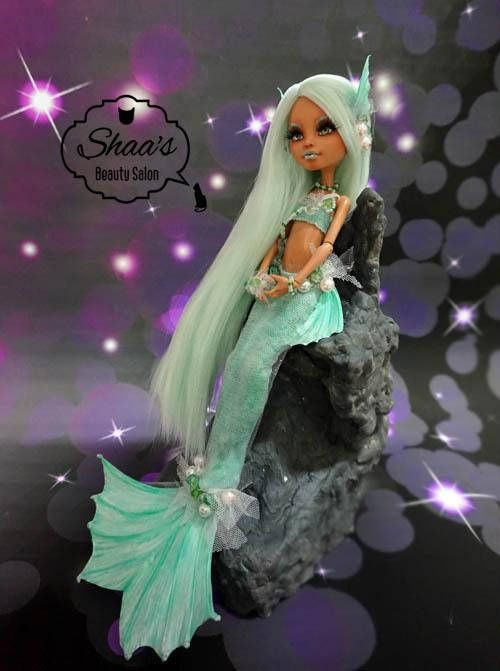 ooak monster high puppe howleen wolf neu streichen kost m monster high pinterest. Black Bedroom Furniture Sets. Home Design Ideas
