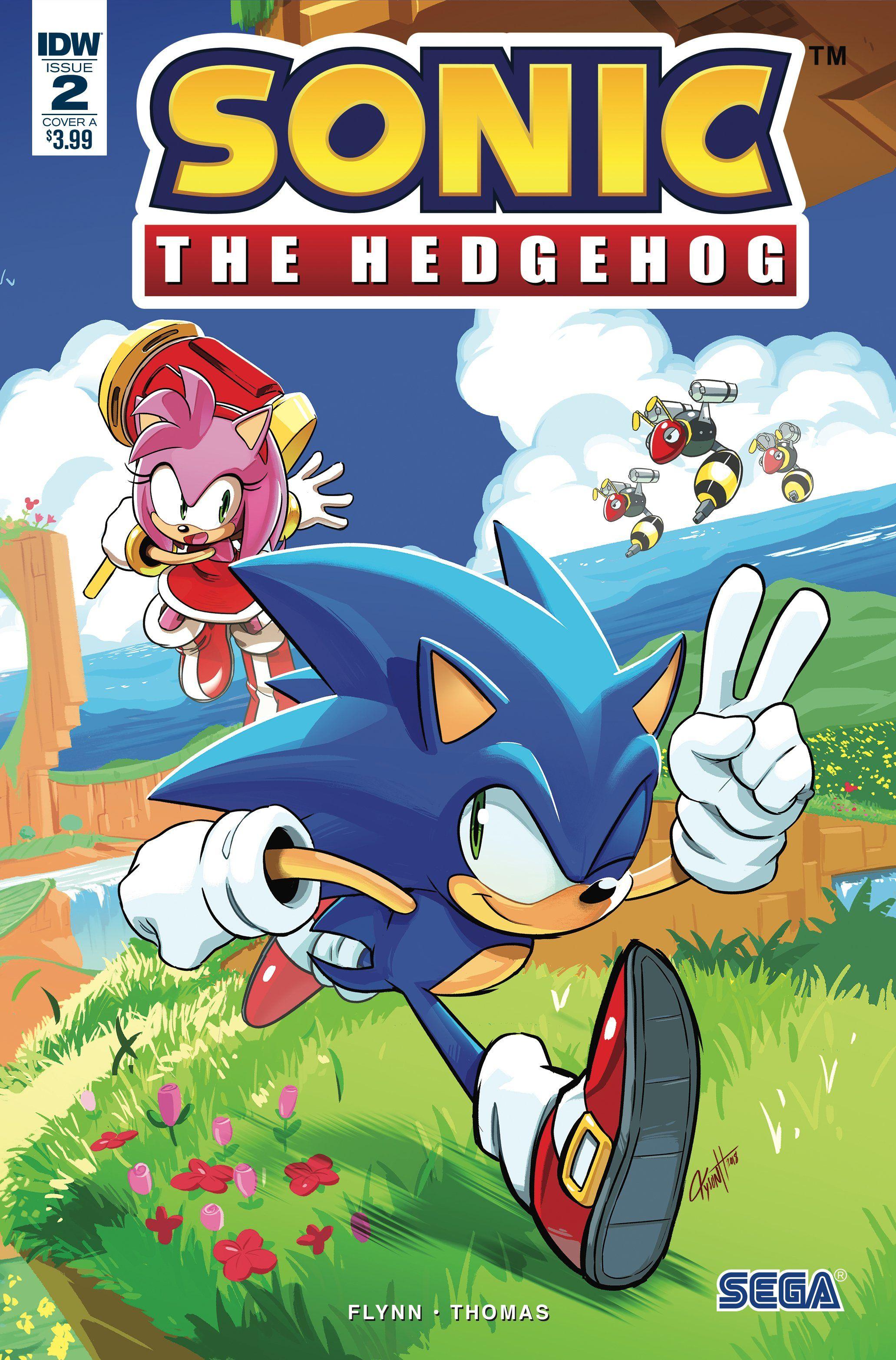 Sonic The Hedgehog 2 Sonic The Hedgehog Comic Books Comics