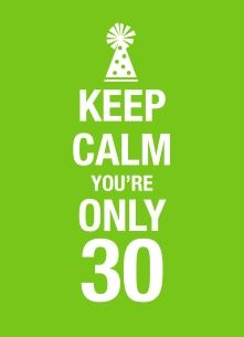 30ste verjaardag wensen man