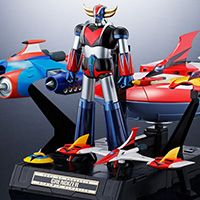 soul of chogokin gx 76x2 glendizer dc compatible drill spearer