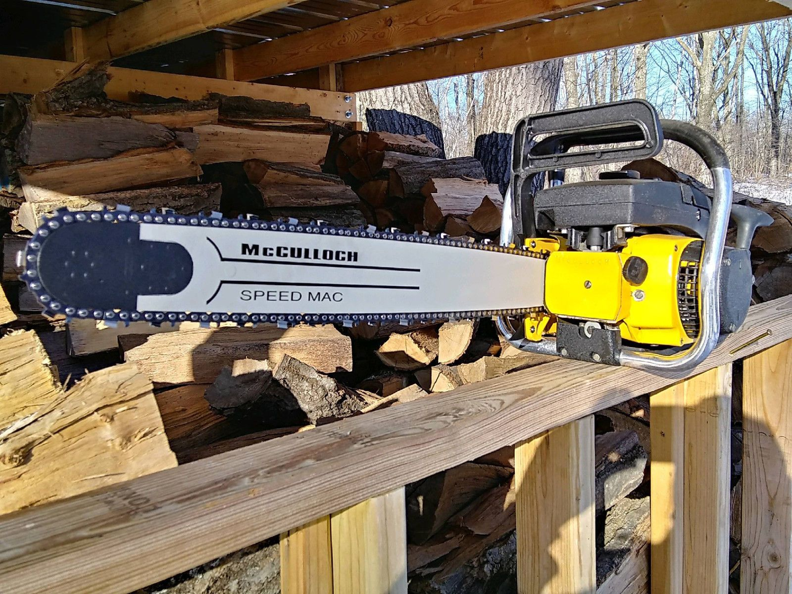 Mcculloch super pro mac 81 chainsaw | Best Chainsaws in 2019