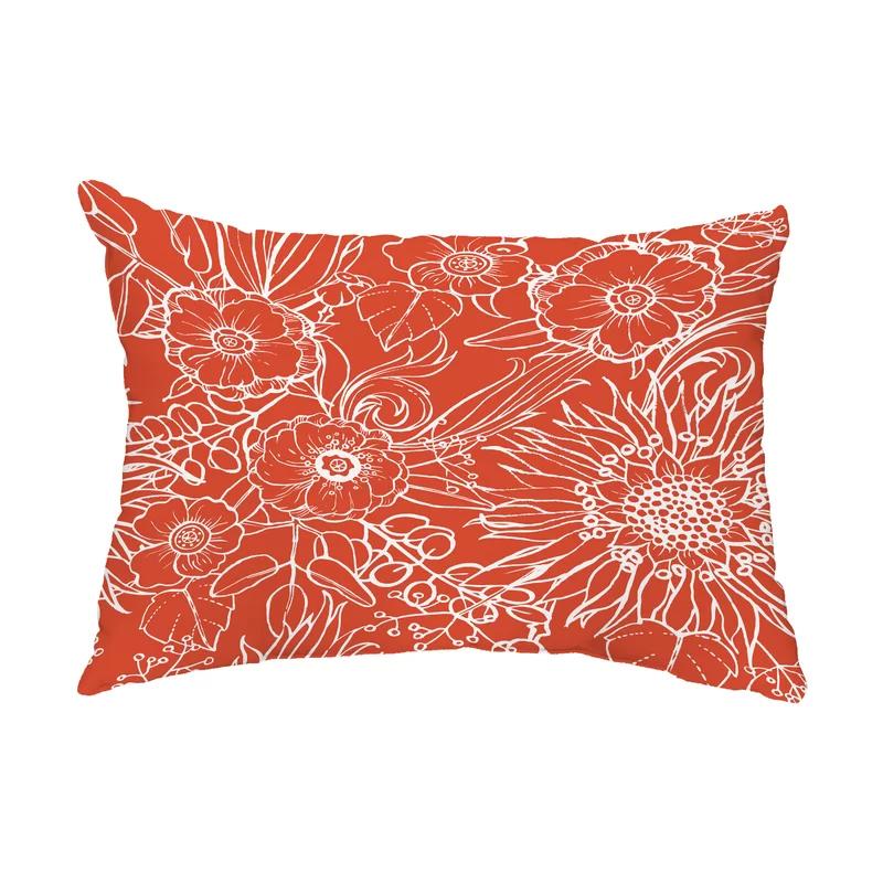 Marez Outdoor Rectangular Pillow Cover And Insert Unique Throw Pillows Stylish Throw Pillows Rectangular Pillow Cover