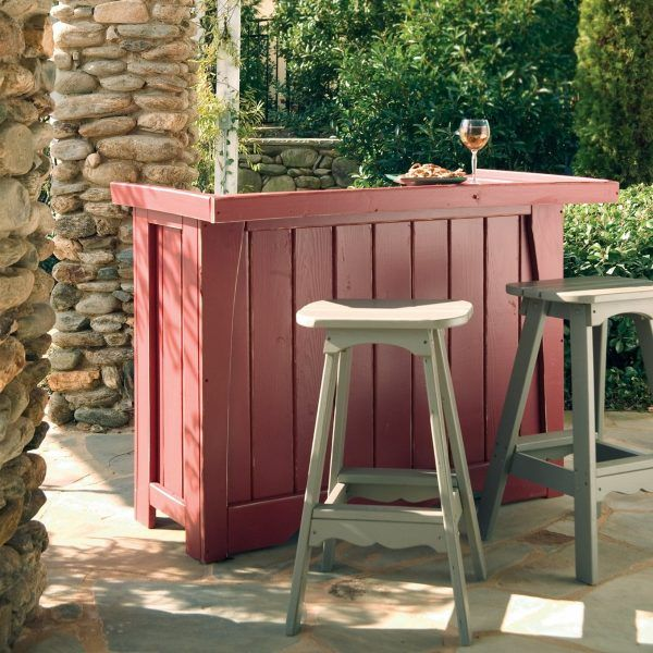 Wonderful Cheap Ideas For Decorating Your Garden: 18 Outdoor Garden Bar Designs    Little Piece Of Me