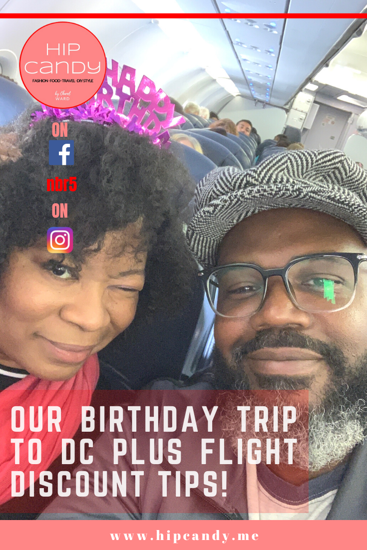 Do you want to know how we only paid $57 bucks roundtrip each on a recent birthday trip to DC and how YOU CAN DO IT TOO? Click through to find out and then start planning your next trip!  #travel #TravelTips #flights #DC #travelsavings #traveldiscounts
