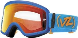 2014 Vonzipper Beefy Blue/Orange Motocross Off Road Dirt Bike Goggle
