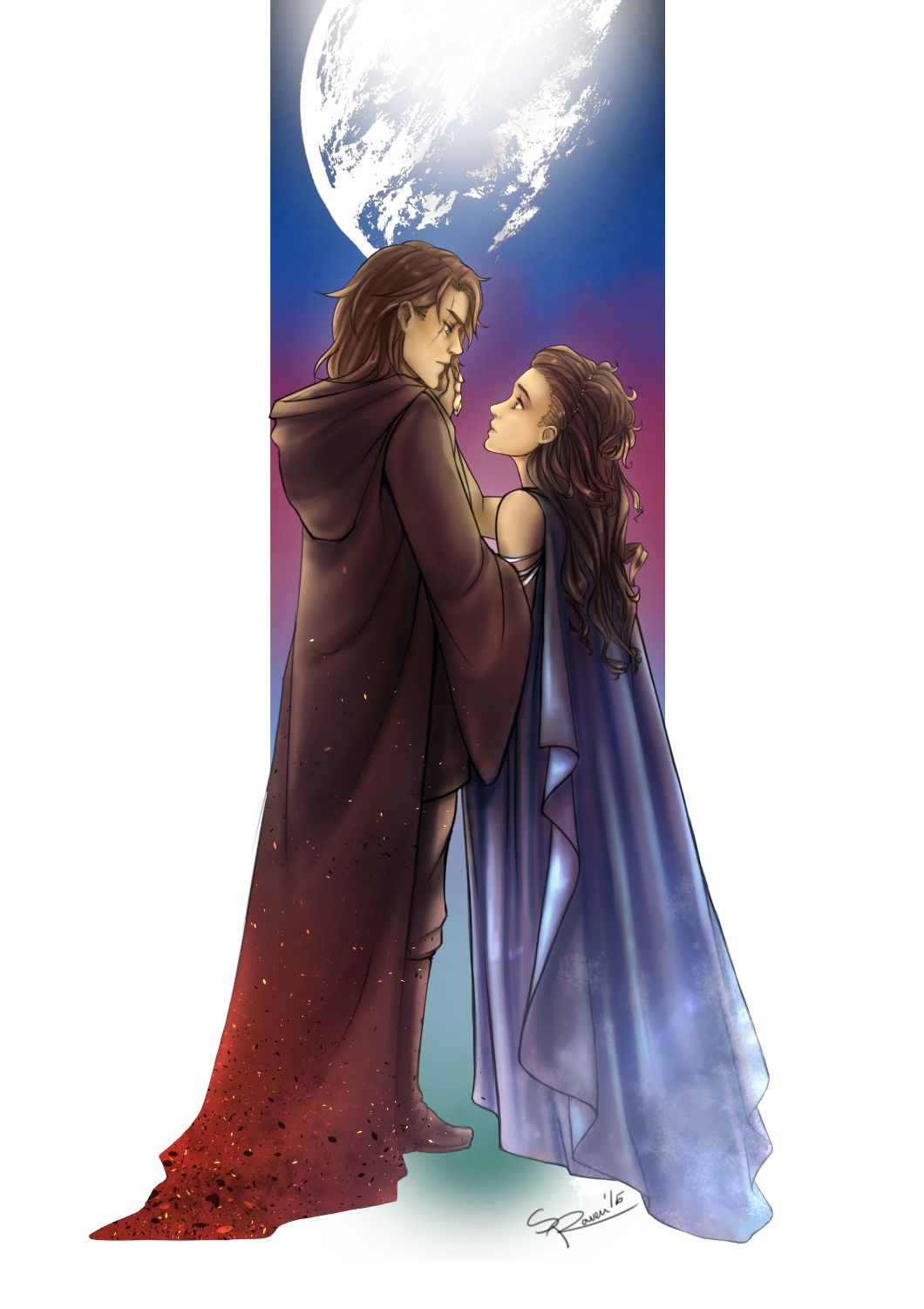 Anakin and padme the gallery say whatever you like but - Dessin stars wars ...