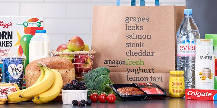 Amazon Brings Its Grocery Delivery Service To The Uk Delivery Groceries Grocery Delivery Service Fresh Groceries