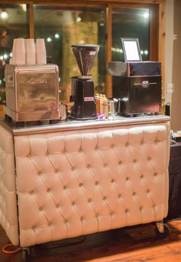 Latte Bar   Coffee Station   Custom Coffee Sleeve by the bride   Wedding Favor To Go   Mrs Planner