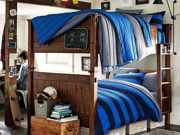 Teenage Boys Rooms Inspiration 29 Brilliant Ideas Bunk Bed Designs Boy Bedroom Design Modern Bunk Beds