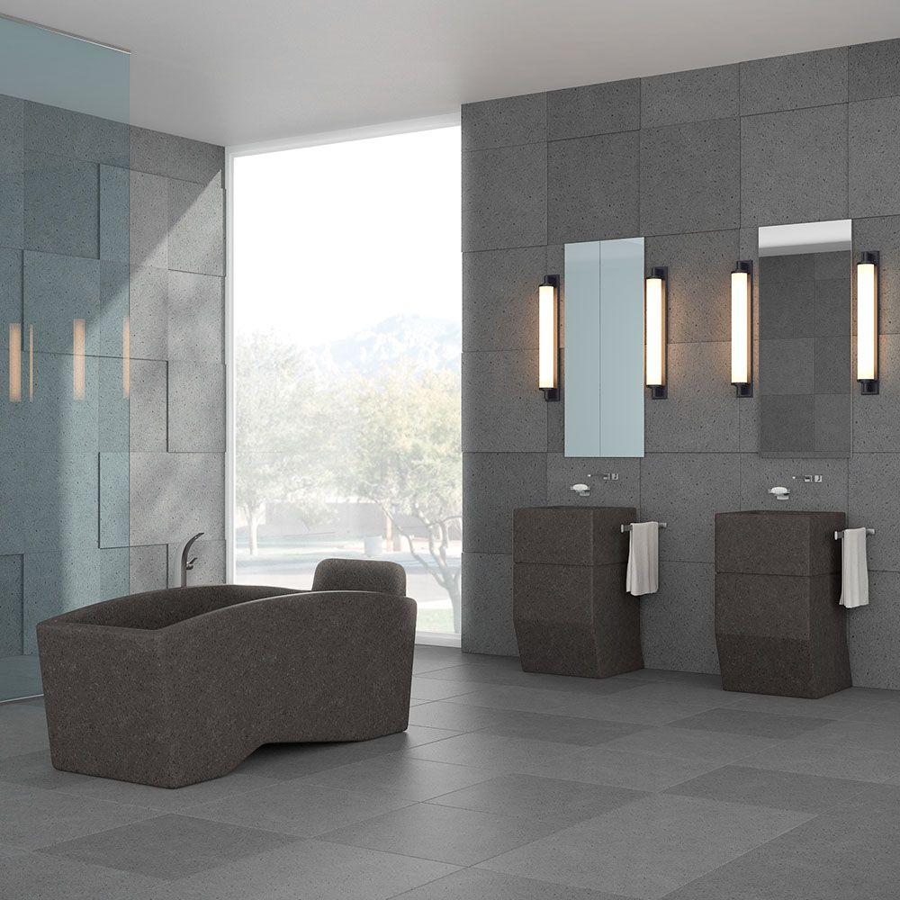 bathroom, Wellness & Spa lava stone surfaces and furnitures | Lava ...