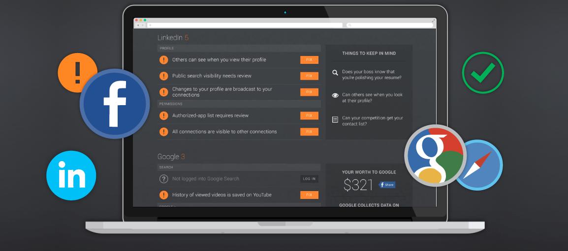 proteçao web - Conheça o PrivacyFix, solução a AVG para controlar sua privacidade na web