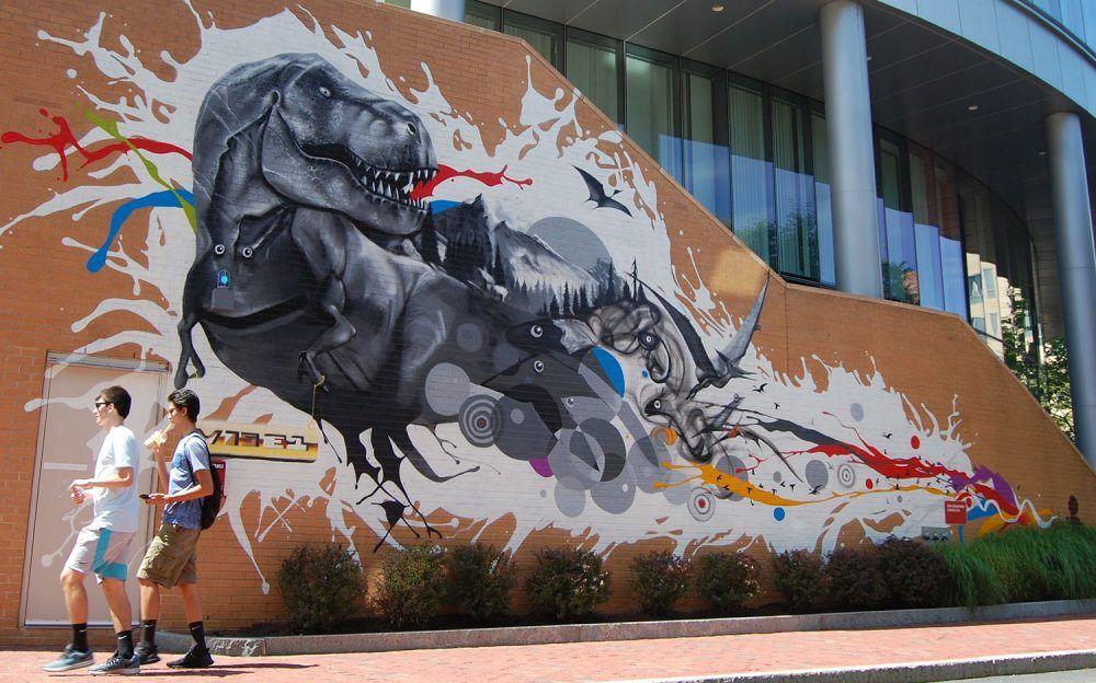 A tour of street art in roxbury by boston artist cedric
