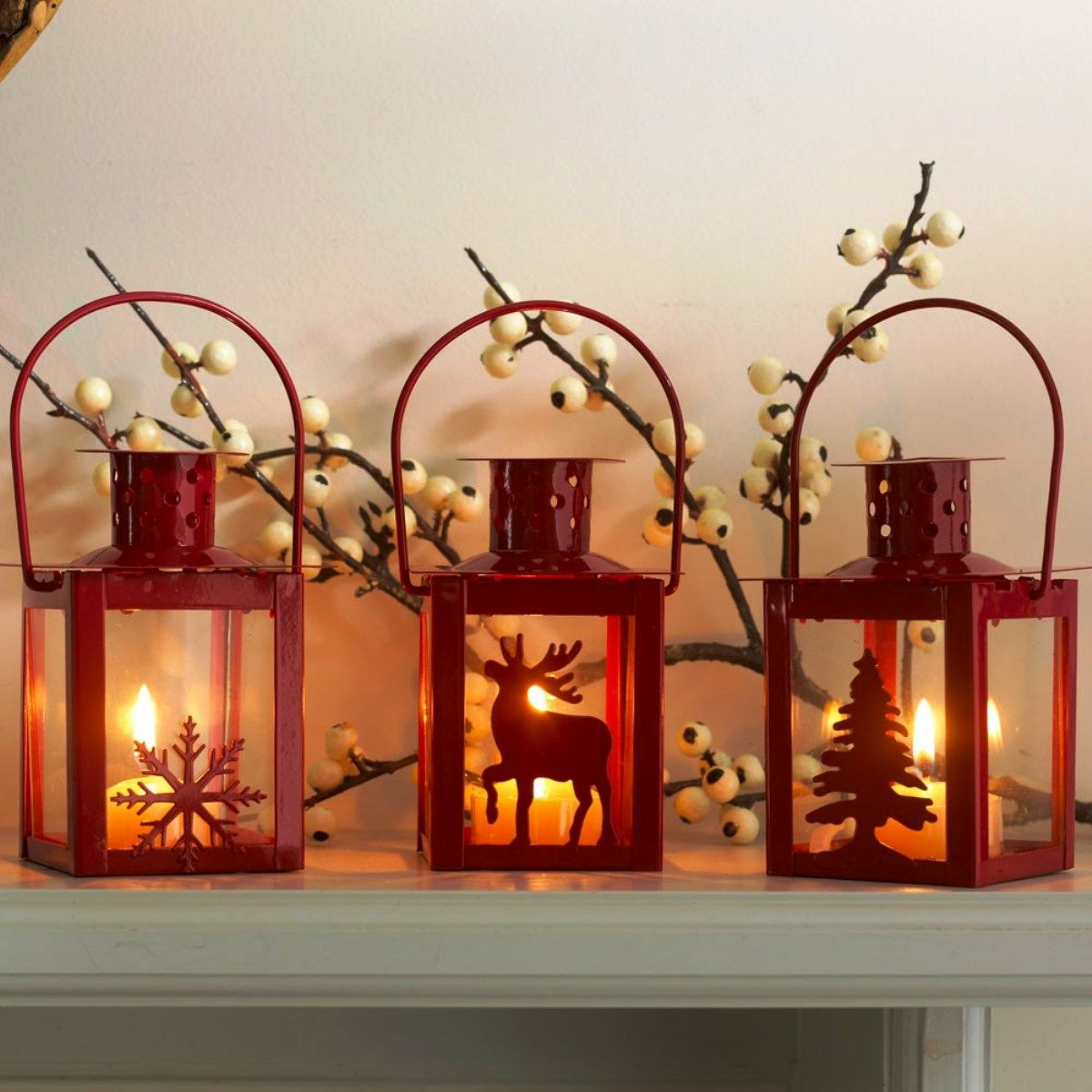 Christmas Decorations Ideas 2014 endearing cool christmas lanterns decorations for indoors