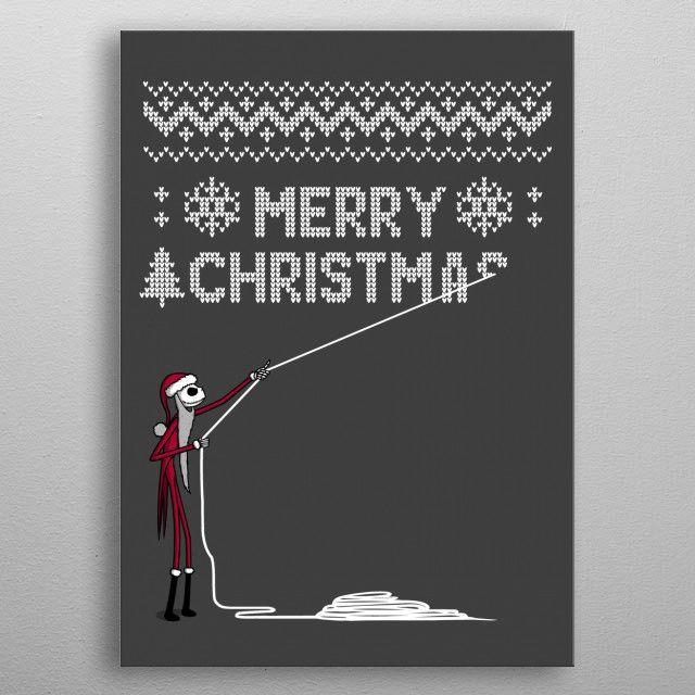 Stealing Christmas ! by Rafael Jurado Castillo | metal posters - Displate | Displate thumbnail