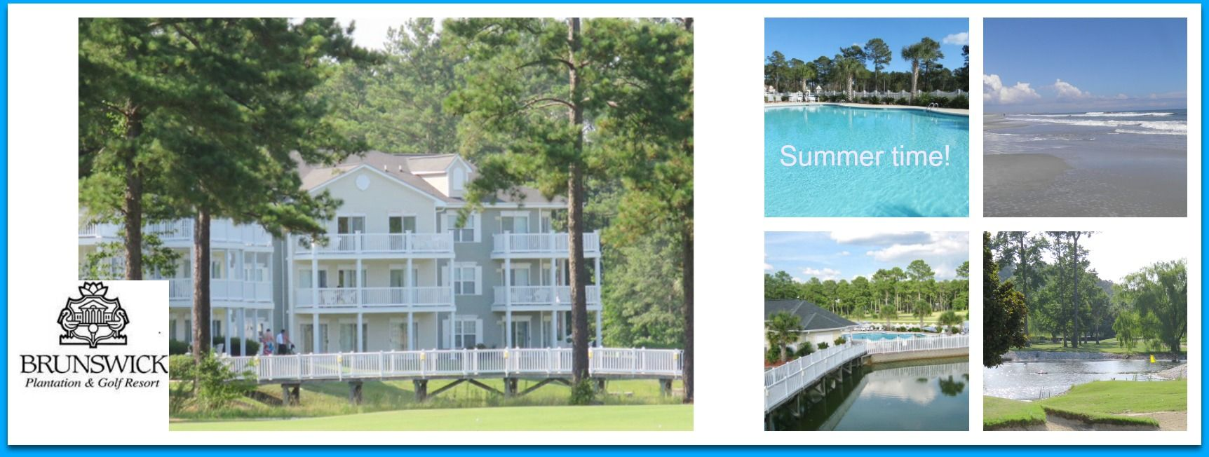 Summer Time at Brunswick Plantation & Golf Resort