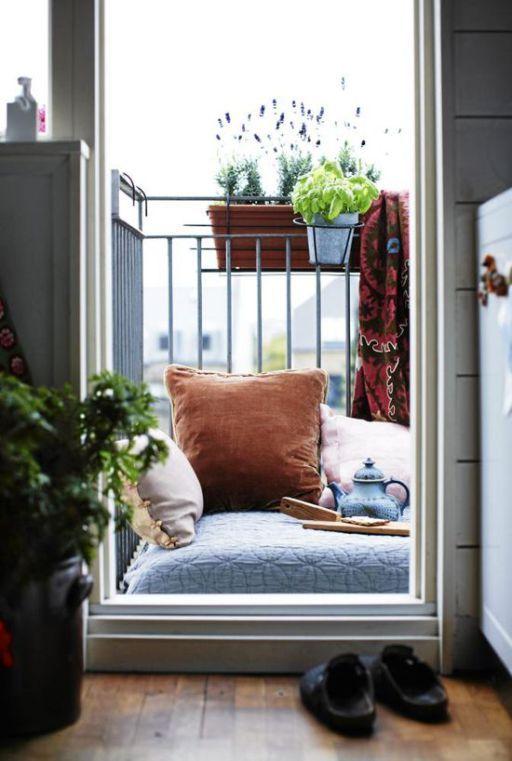 Idee per piccoli e grandi terrazzi Casa bohemien, Design