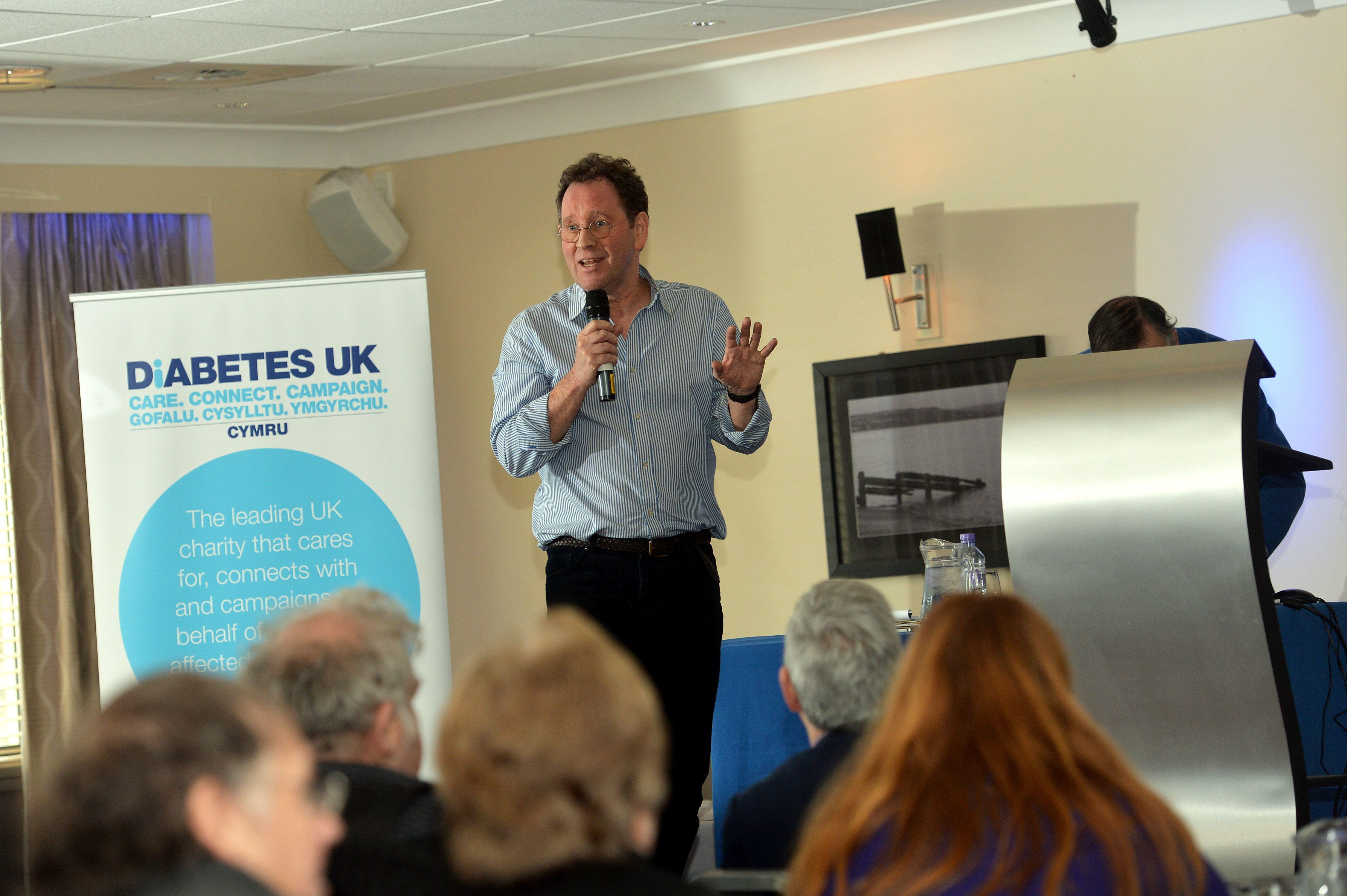 'Making a Difference' Diabetes UK Cymru Volunteer