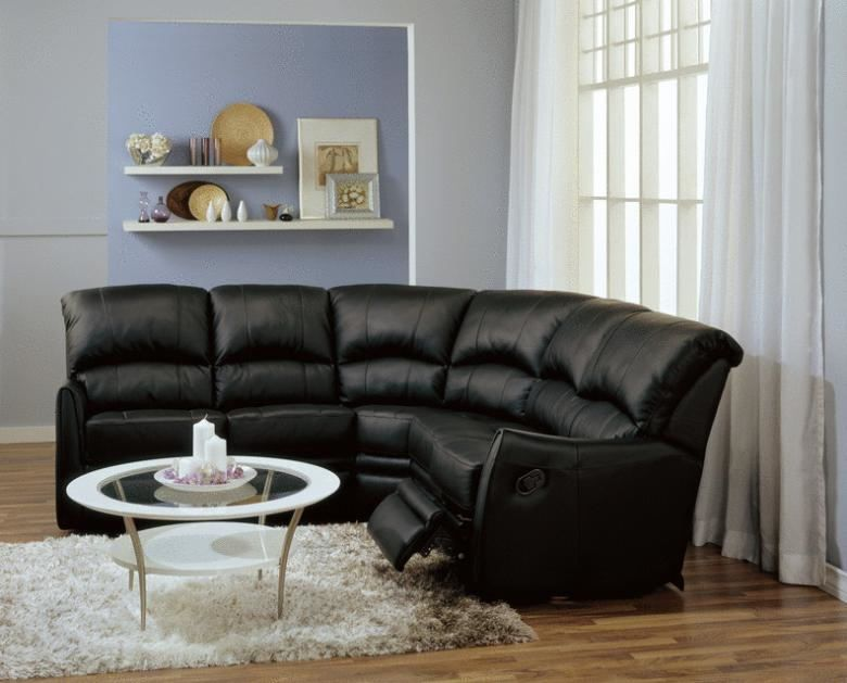Cricket Leather Reclining Sectional : Leather Furniture Expo
