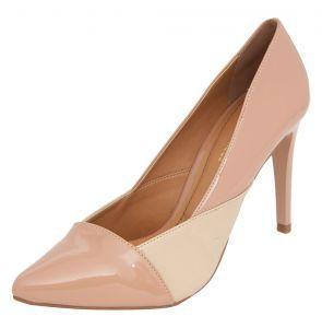 a7ae029b2 Scarpin DAFITI SHOES Recortes Nude DAFITI SHOES   shoes em 2019 ...