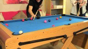 Folding Pool Table 6 Foot