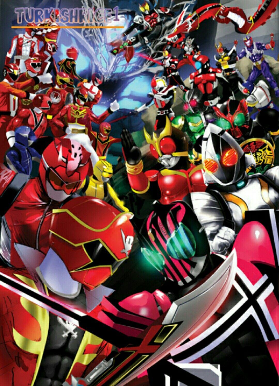 Kamen Rider Vs Super Sentai Kamen Rider Decade Kamen Rider Power Rangers