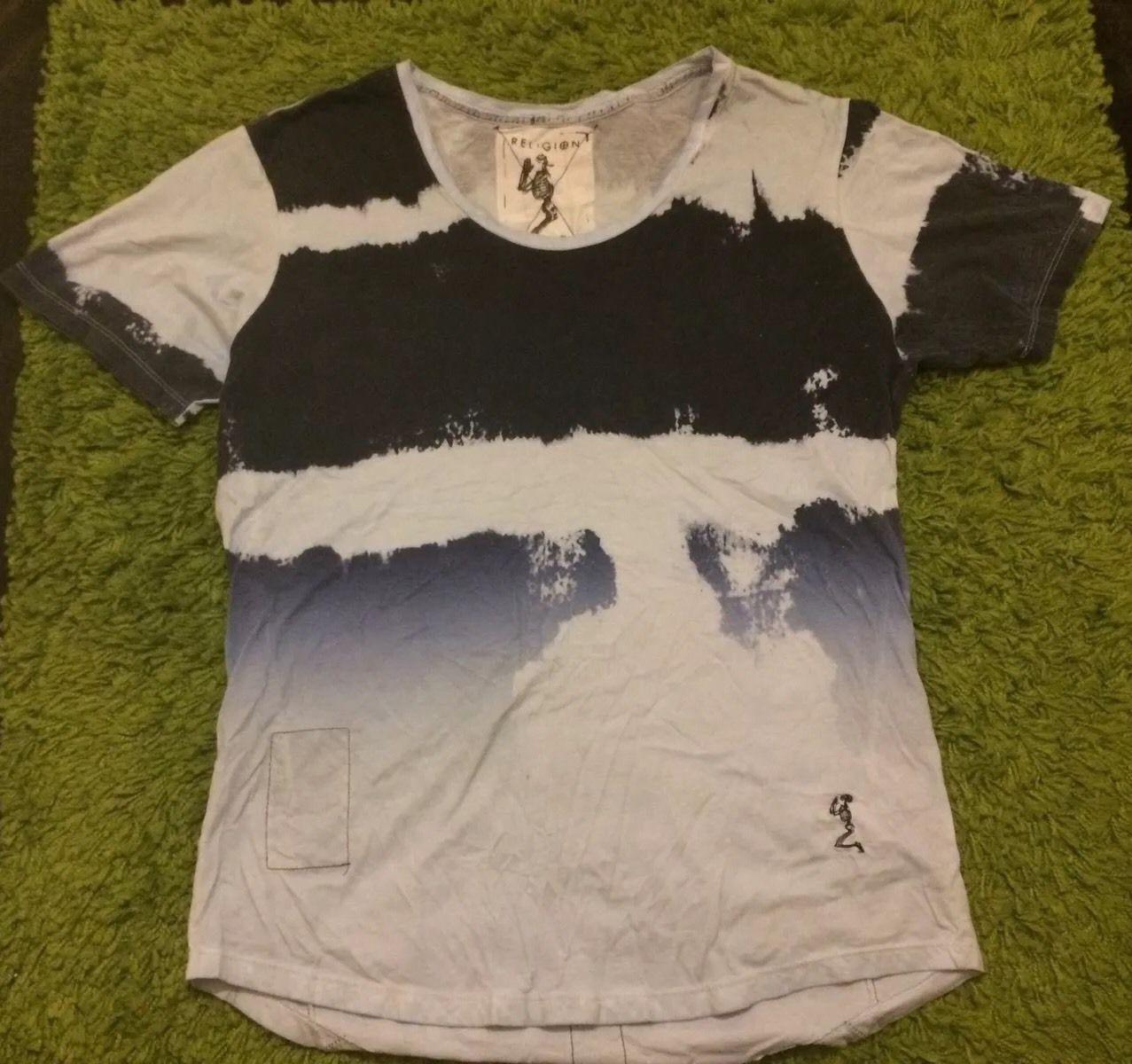 White t shirt ebay uk - Religion Men S Designer T Shirt Uk Large Ebay