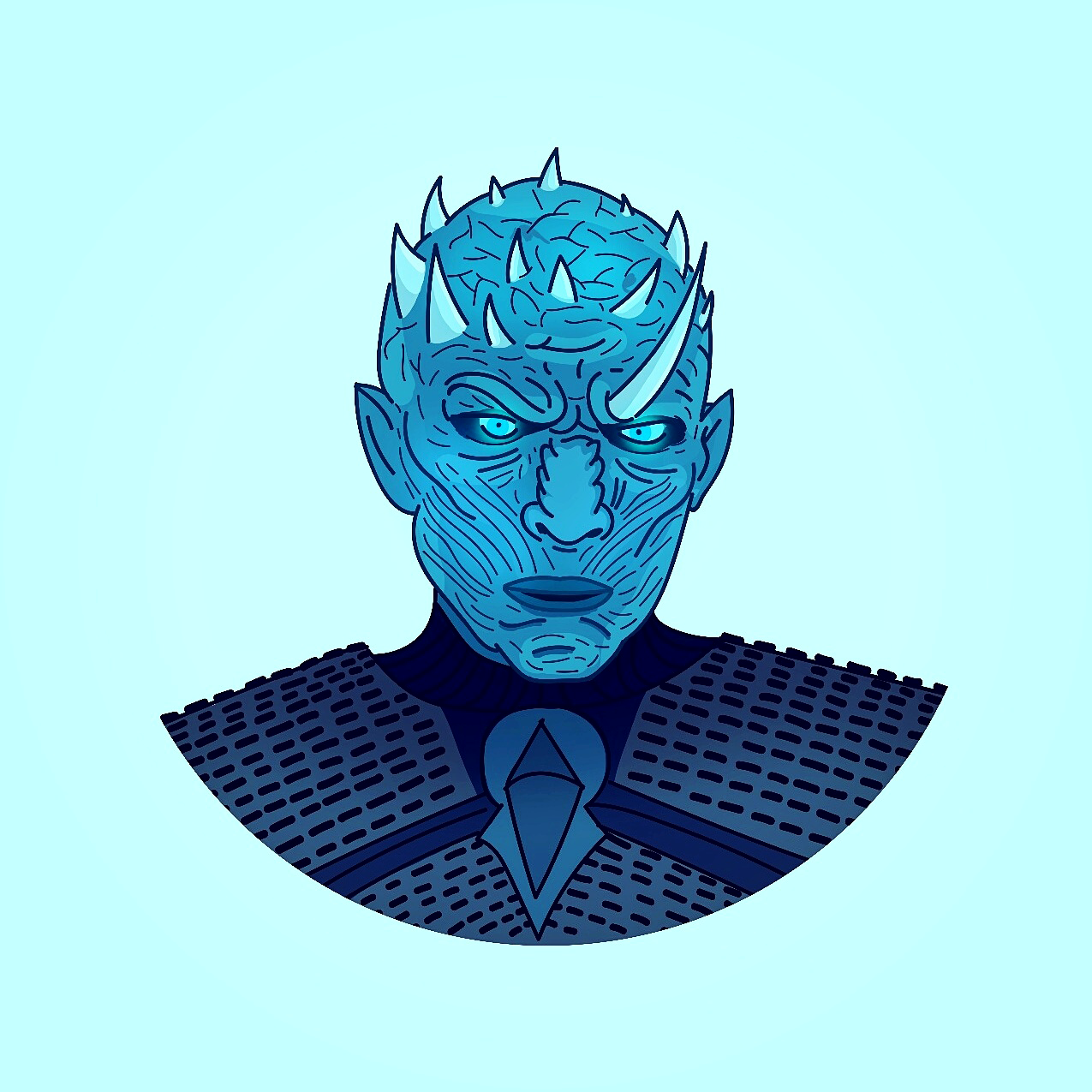 The Night S King Game Of Thrones Illustration Game Of Thrones Illustrations Kings Game Color Pop