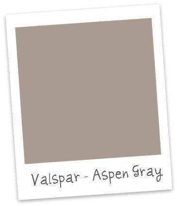 My Perfect Gray Finally Valspar Aspen Gray Valspar Wall Color Paint Color Inspiration