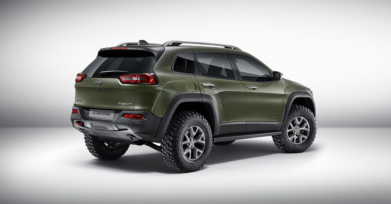 Jeep Showt Op Iaa Night Eagle Special Editions Van Renegade En Cherokee Jeep Cherokee Jeep Cherokee