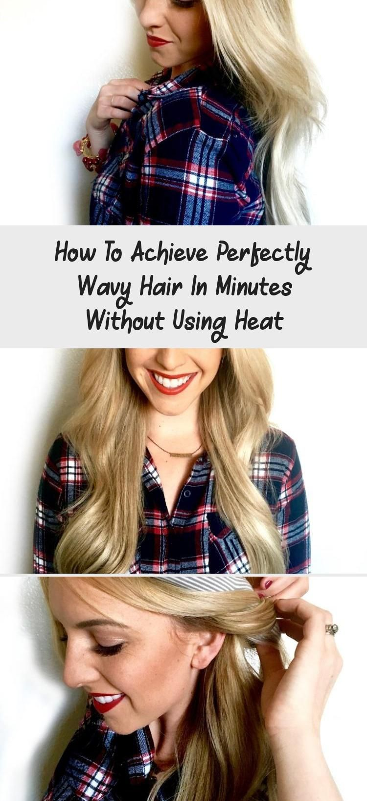 How to achieve perfectly wavy hair in minutes without