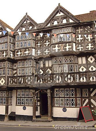 15th Century Public House In Ludlow In The English Home Counties