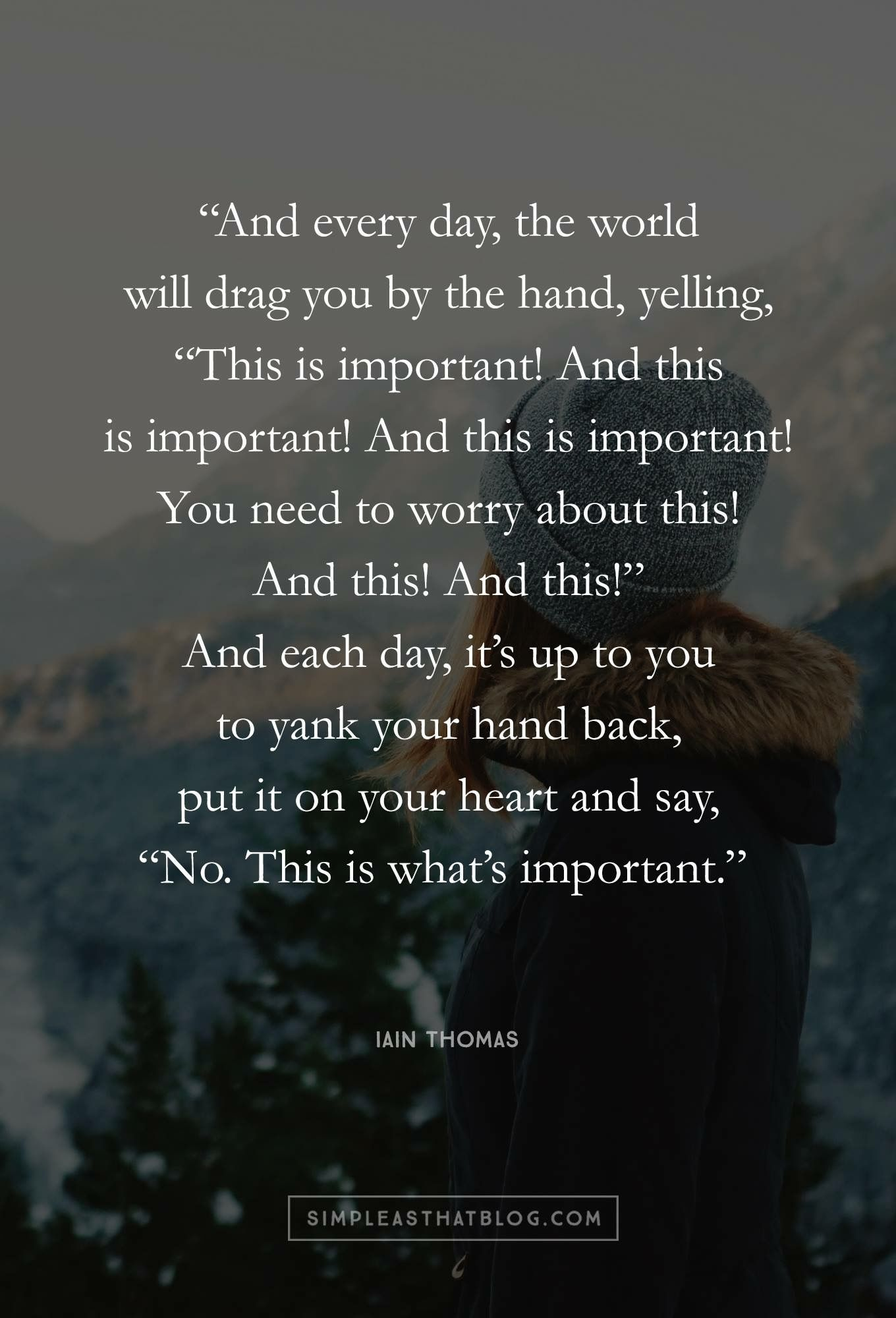 Probably one of my favorite quotes self care and self