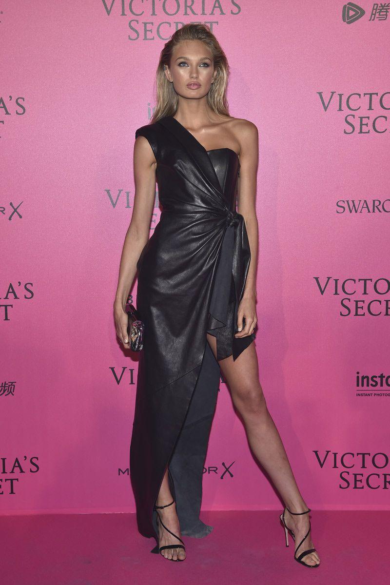 La \'after party\' de Victoria\'s Secret 2016 | Tacones, Vestido formal ...