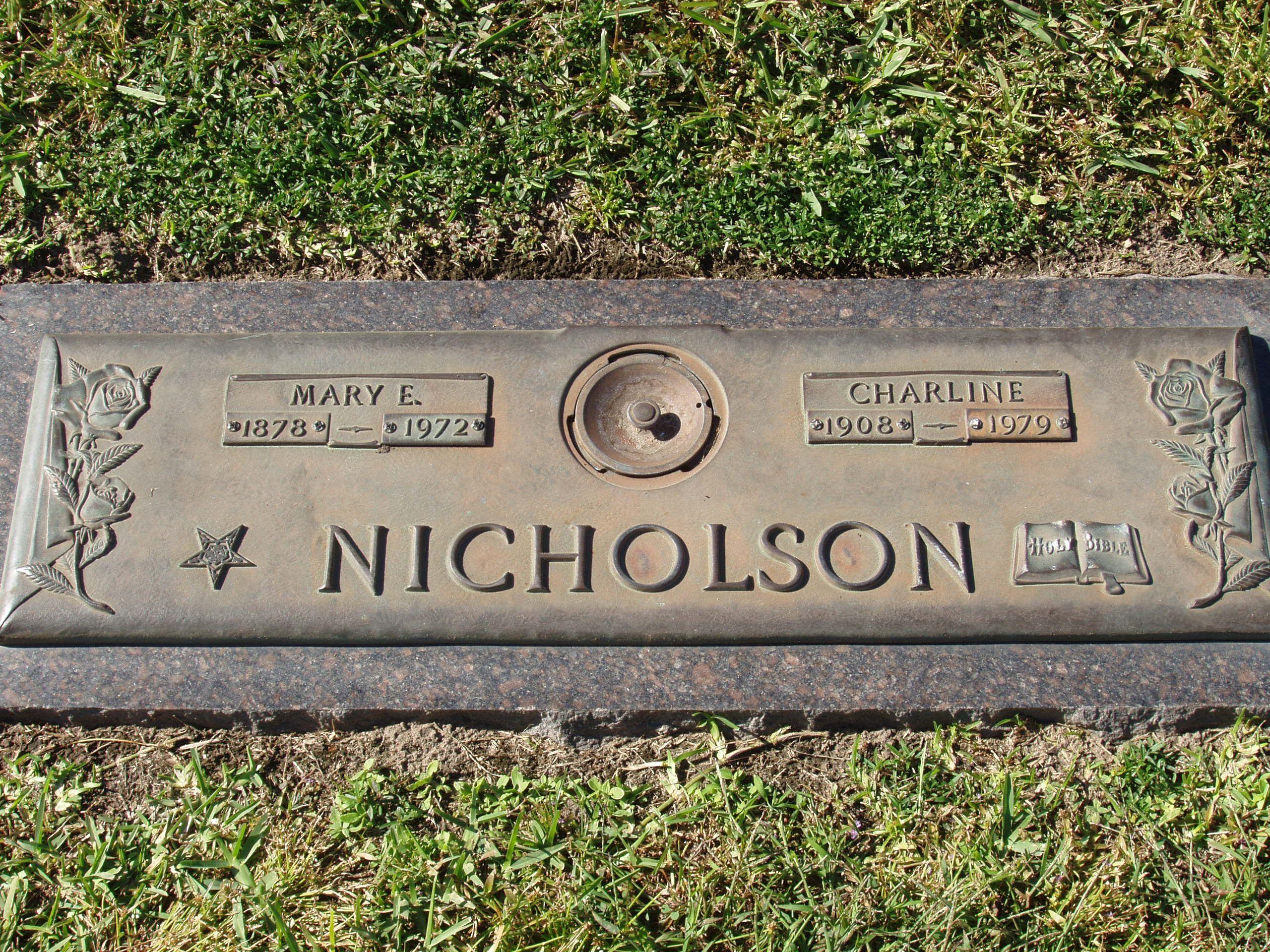 Mary E. Nicholson (1878 - 1972) - Find A Grave Photos